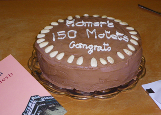 Minyip launch cake 150 Motets