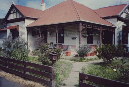 Homer Rieth Minyip residence photo