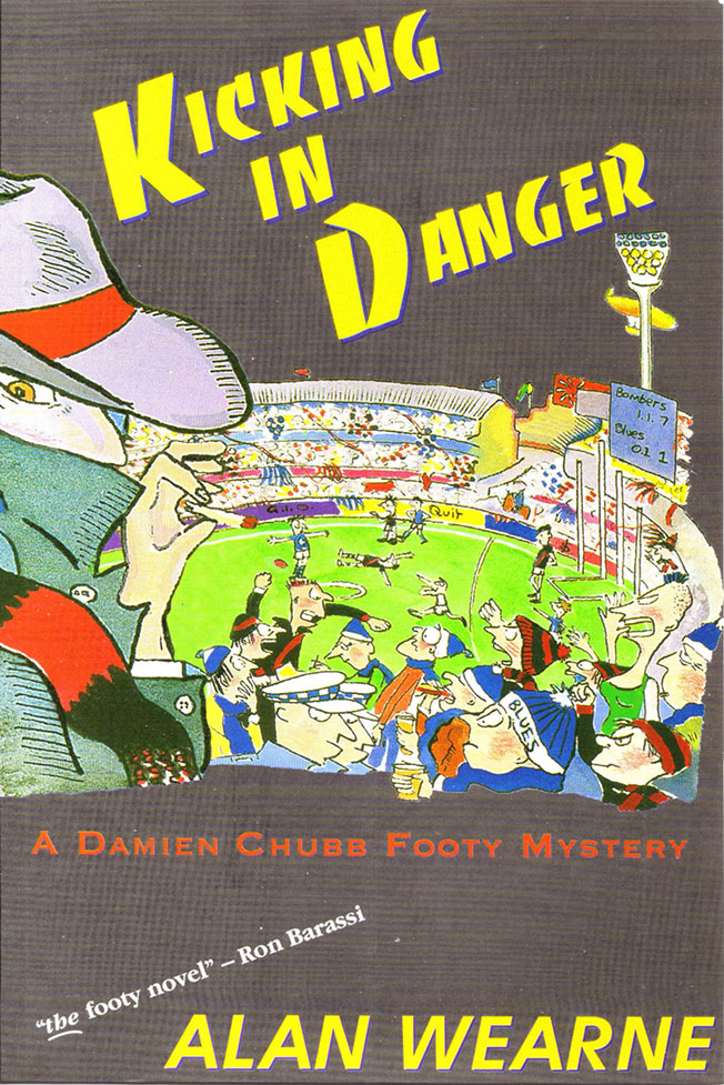 Cover of Kicking in Danger